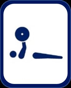 pittogramma pesistica paralimpica