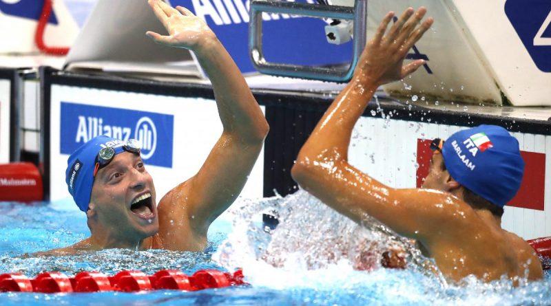 Simone Barlaam e Federico Morlacchi ai Mondiali di Nuoto 2019