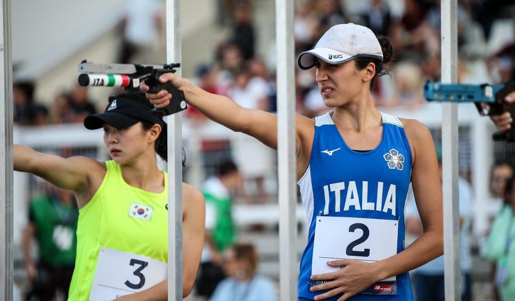 Elena Micheli laser run