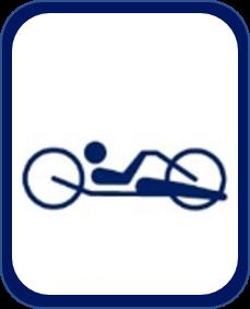 Pittogramma paraciclismo su strada