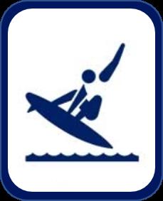 Pittogramma surf Tokyo 2020