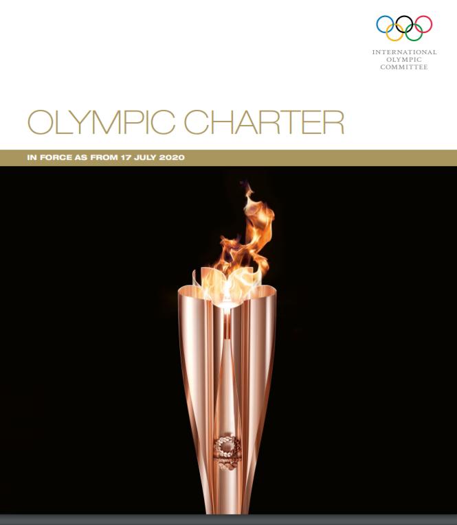 Carta Olimpica luglio 2020