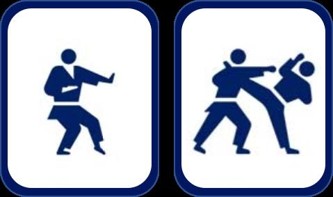 Pittogramma karate Tokyo 2020