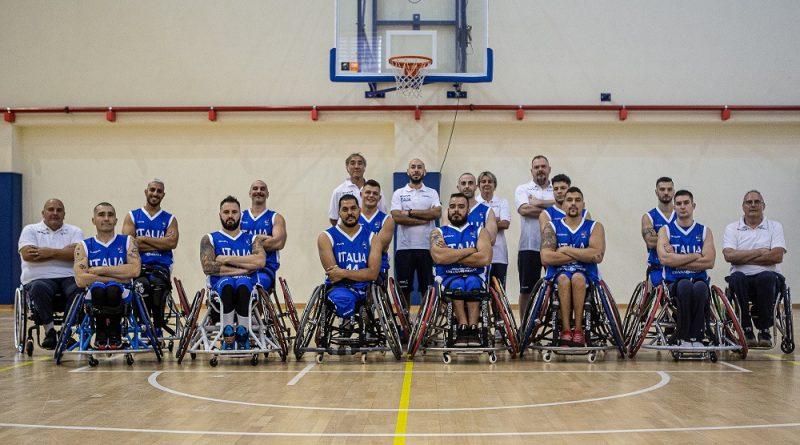 basket in carrozzina nazionale maschile fipic