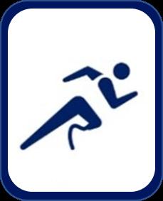 Pittogramma atletica paralimpica Tokyo 2020