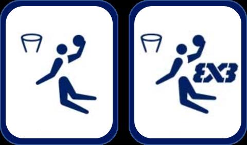 Pittogramma basket Tokyo 2020