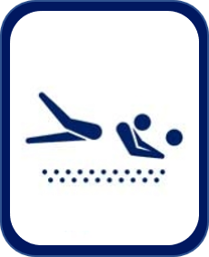 Pittogramma beach volley Tokyo 2020