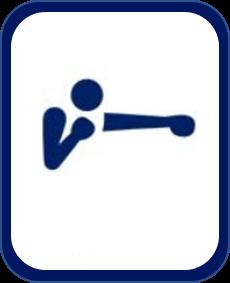 Pittogramma boxe Tokyo 2020