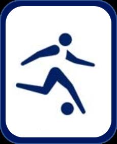 Pittogramma calcio Tokyo 2020