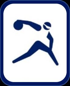 Pittogramma goalball Tokyo 2020