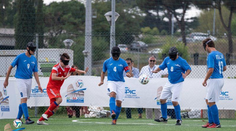 italia calcio a 5 per ciechi