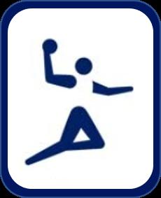 Pittogramma pallamano Tokyo 2020