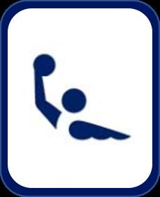 Pittogramma pallanuoto Tokyo 2020