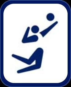 Pittogramma pallavolo Tokyo 2020
