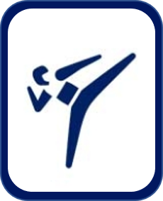 Pittogramma taekwondo Tokyo 2020