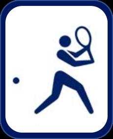 Pittogramma tennis Tokyo 2020