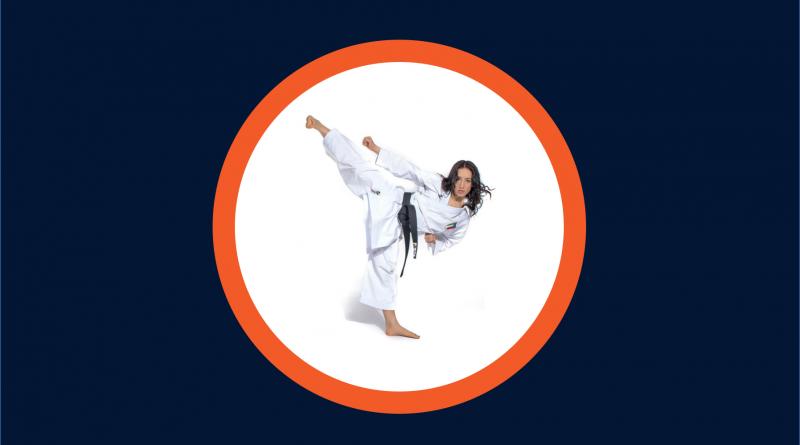 Terryanna D'Onofrio karate