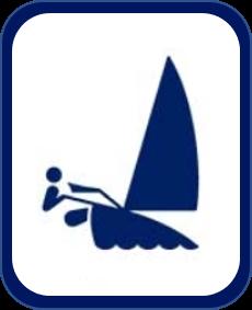 Pittogramma vela Tokyo 2020