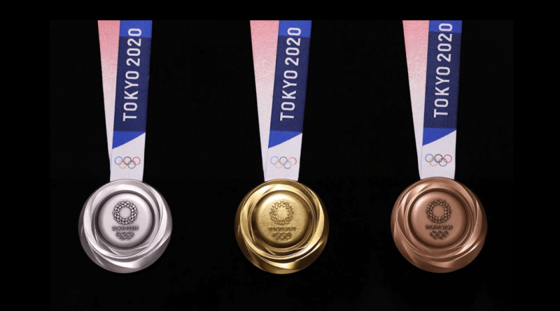 tokyo medaglie materiale riciclato