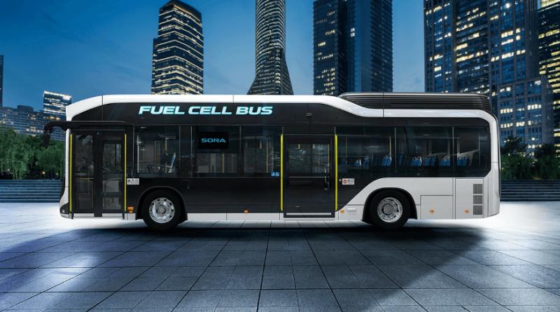 hydrogen bus tokyo 2020
