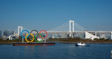 odaiba marine park olympics ring