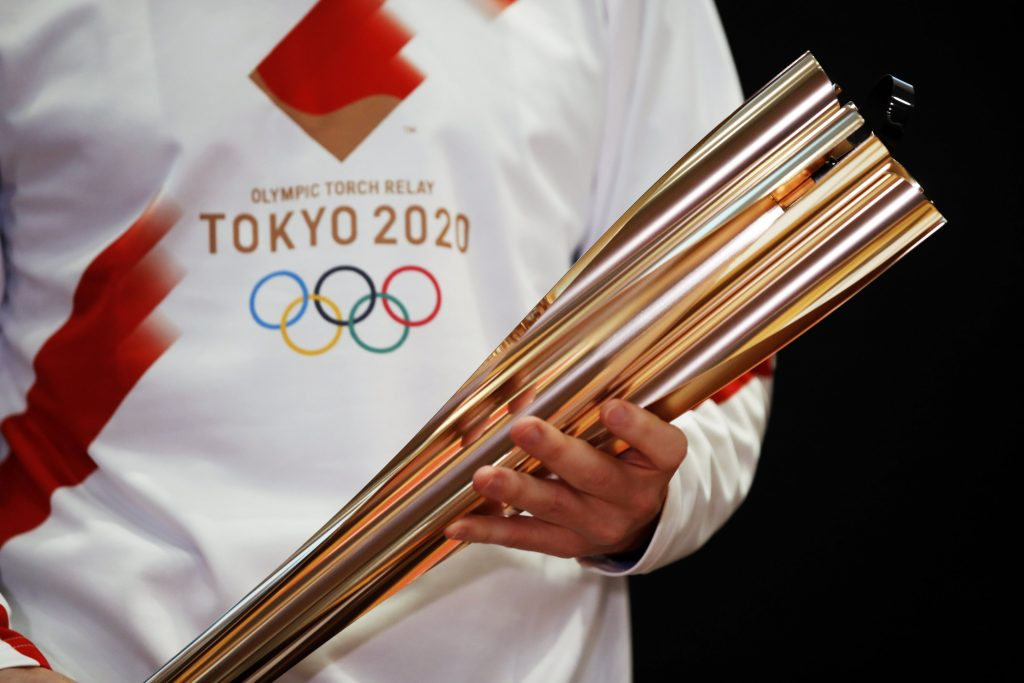 olympic torch hydrogen tokyo 2020